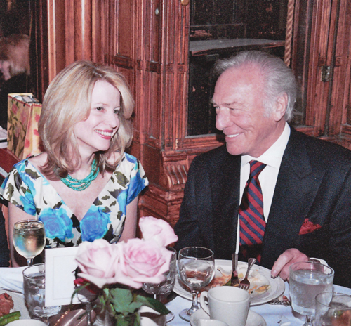 Christopher Plummer with Ms. Walworth